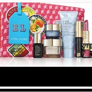 Estée Lauder Spring 2021— 7 Pc Gift Set/Bag NWT